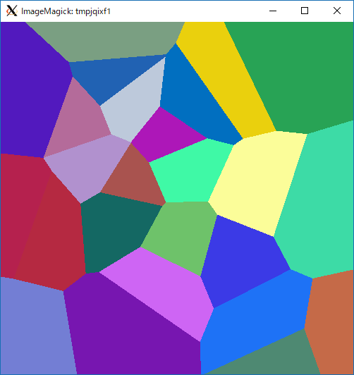 voronoi diagram sample